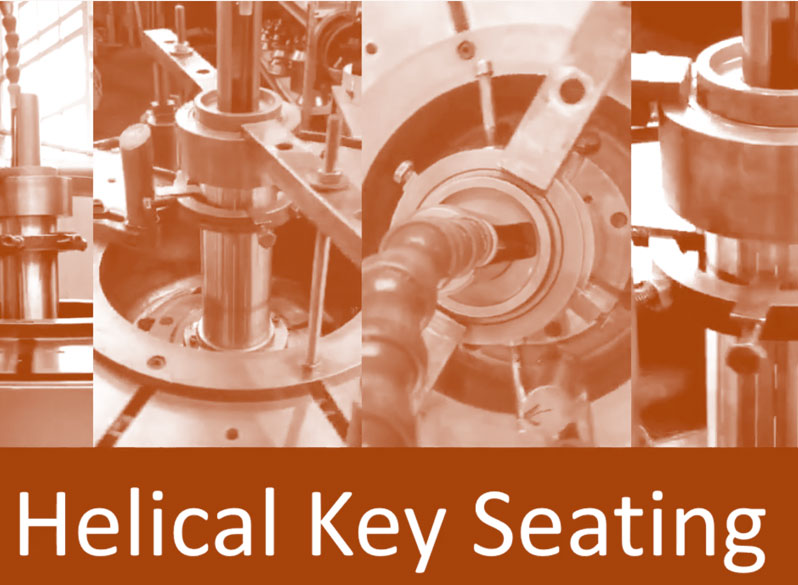 Helical Key Seating